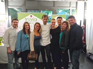 I blogger presenti all'evento e Davide Oldani